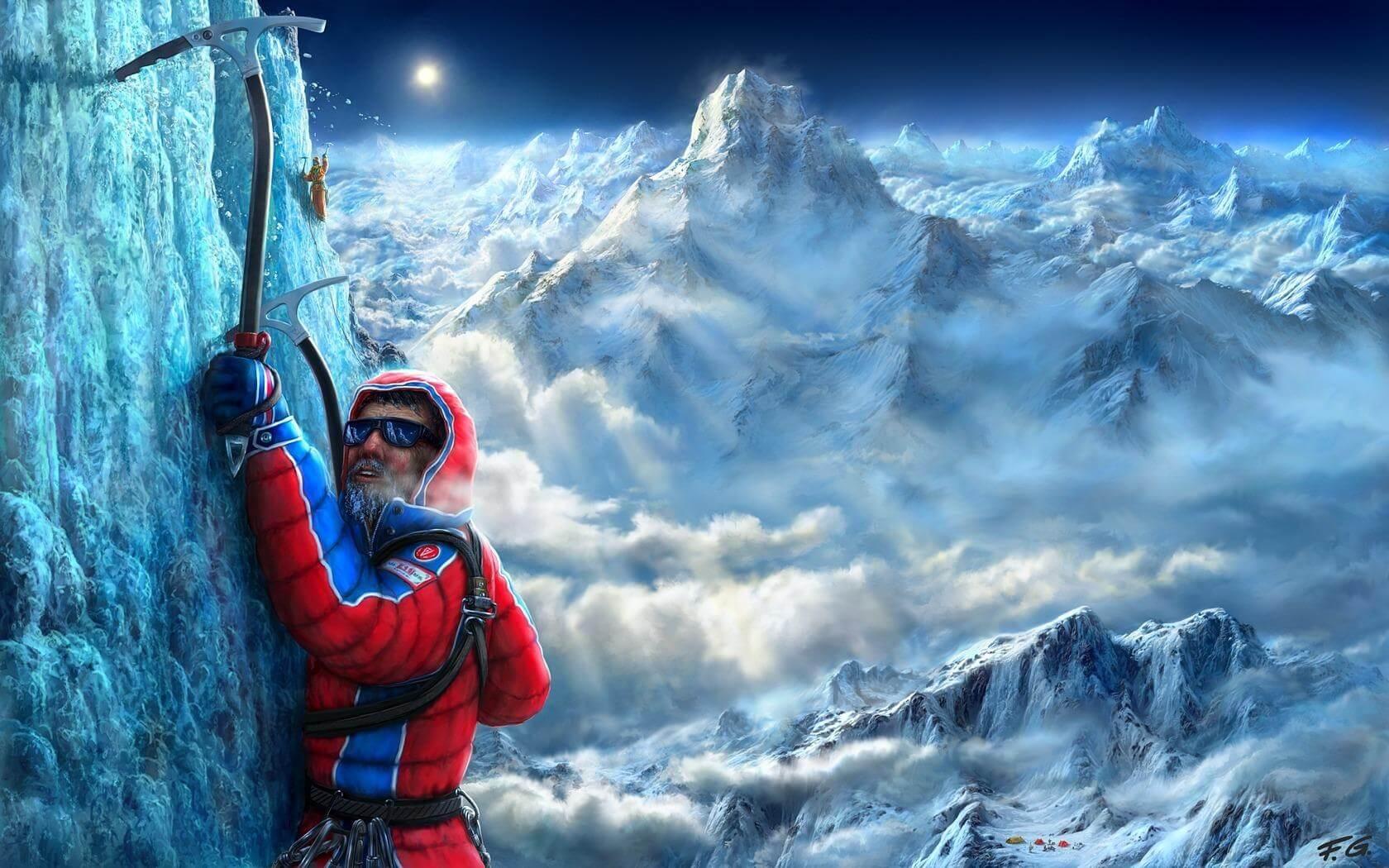 у альпинистов гемоглобин повышен