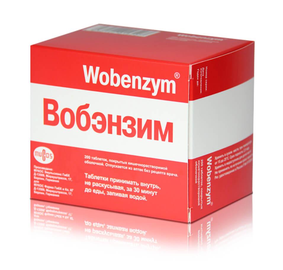 вобэнзим для лечения хламидий у мужчин