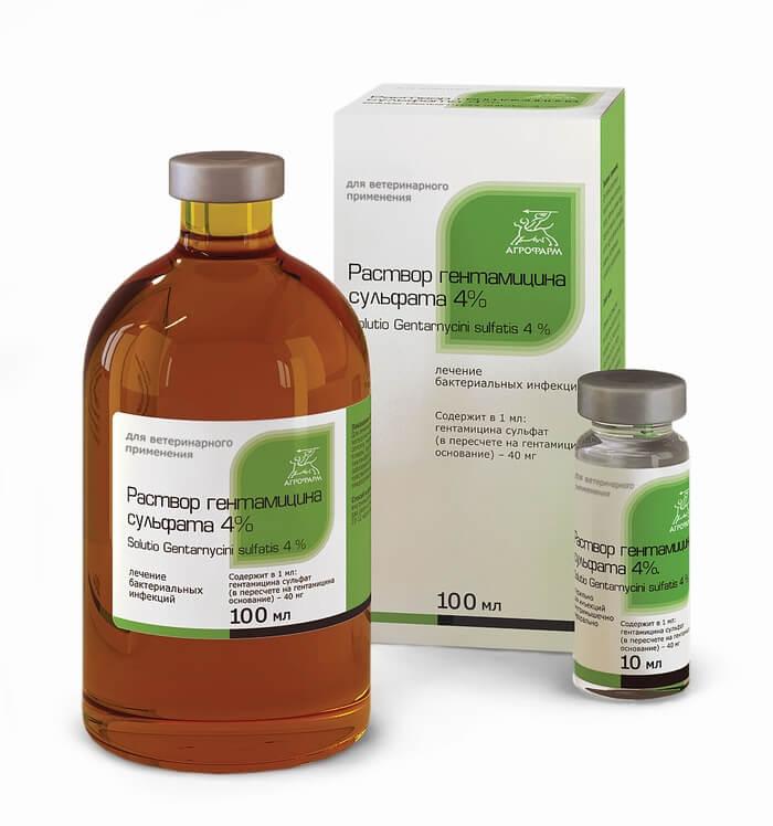 раствор гентамицина для инъекций