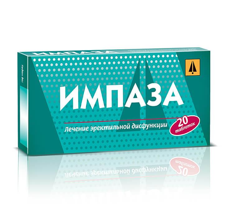 для потенции таблетки импаза
