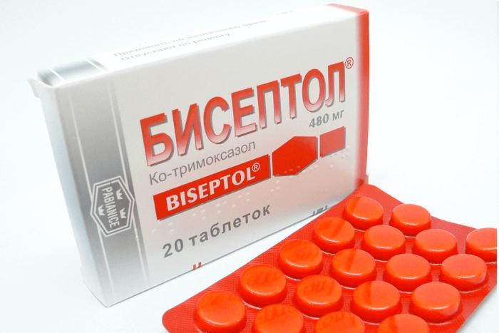 бисептол для лечения больных почек