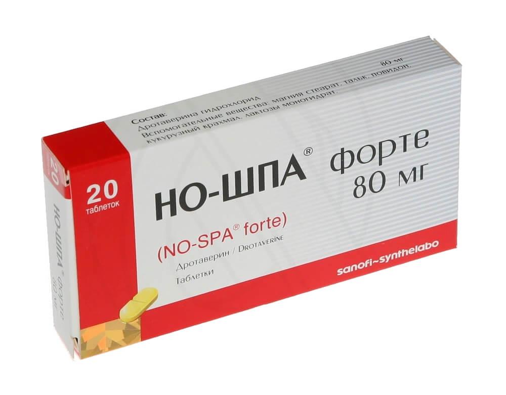 лекарство ношпа помогает когда болят почки