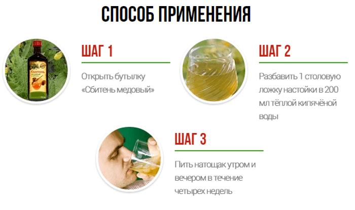 как употреблять сбитень медовый от простатита