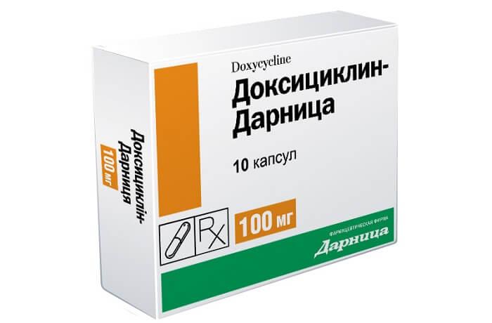 антибиотики тетрациклини для лечения простатита