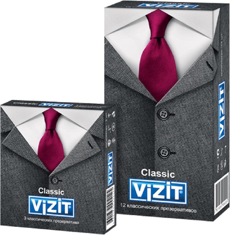 Одни из лучших и качественных презервативов VIZIT Classic