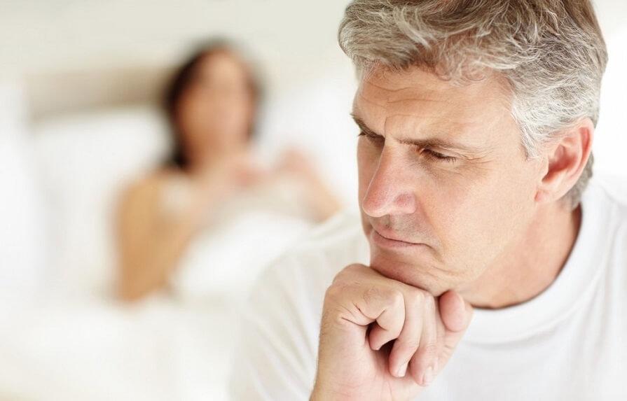 Основные симптомы климакса у мужчин
