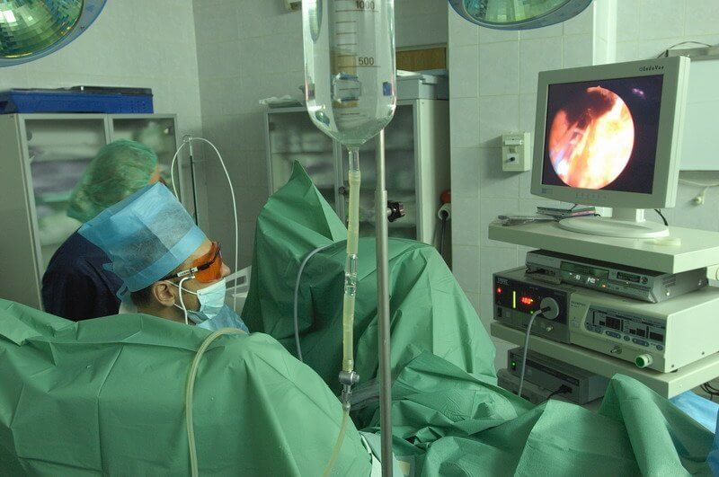 операция лазером или вапоризация