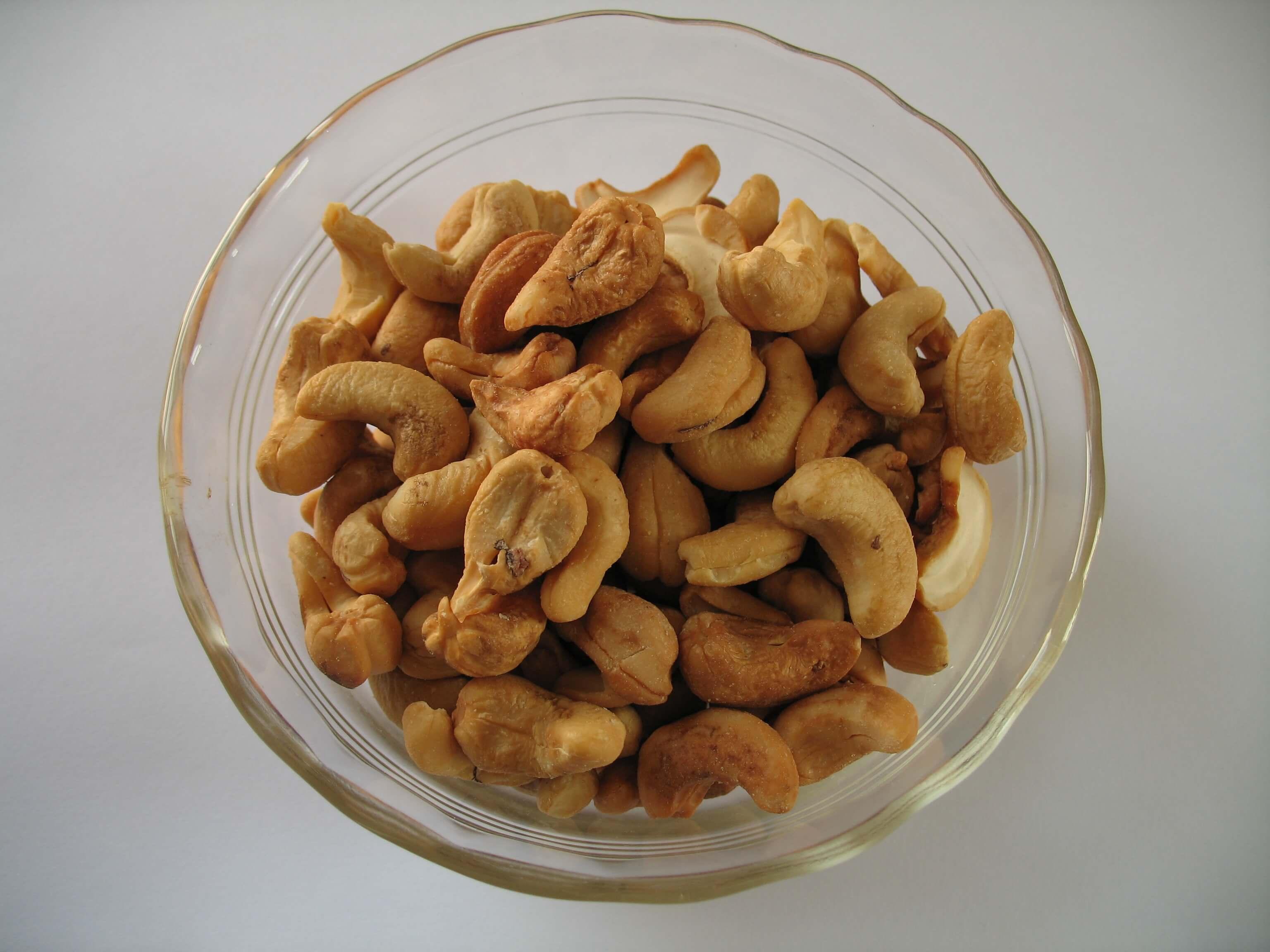 Применение ореха кешью