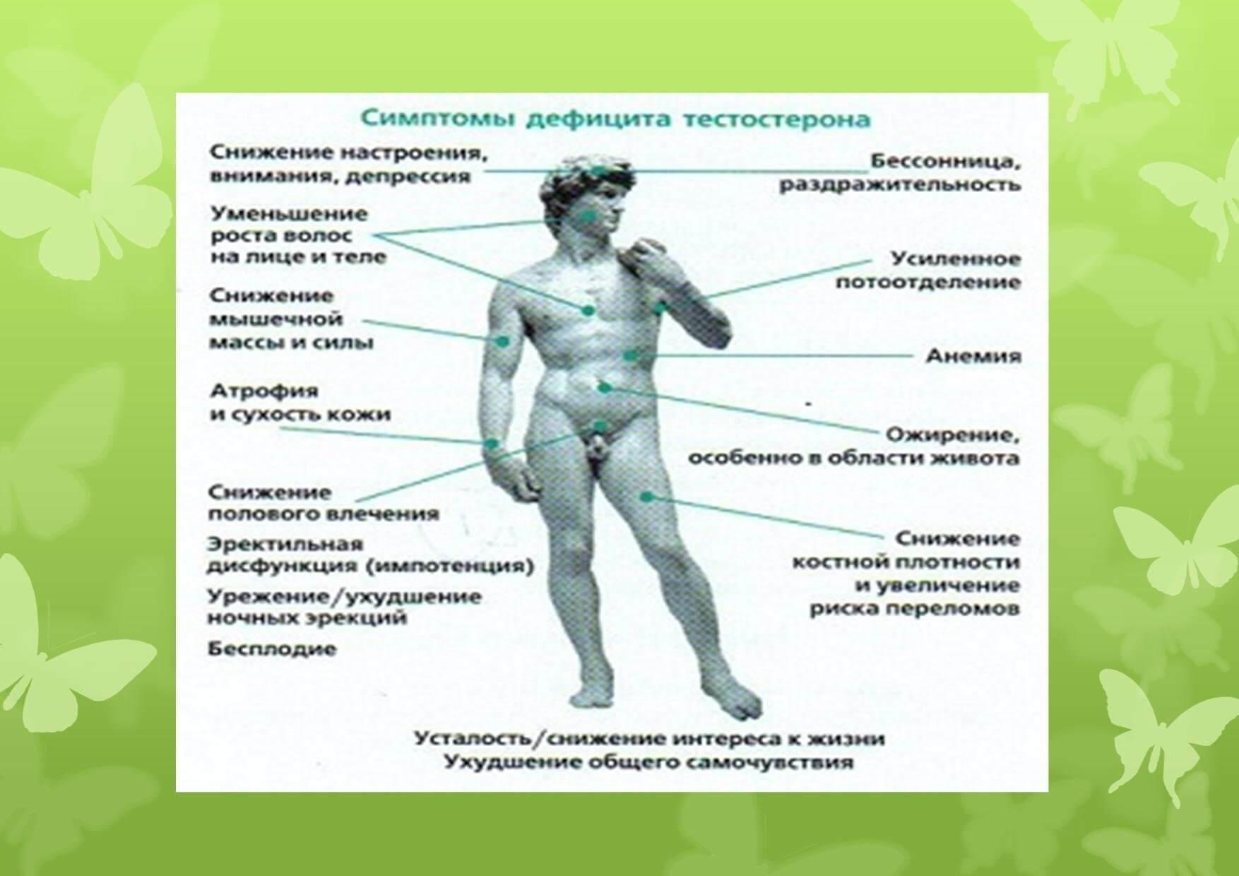 Свободный тестостерон в норме у мужчин