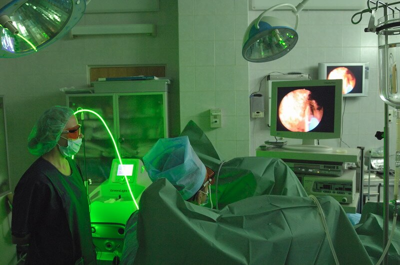 Операция лазером при аденоме простаты