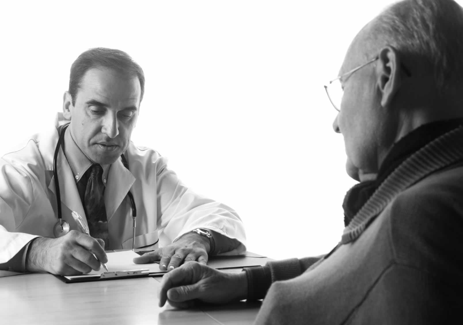 аденома предстательной железы на приеме у врача