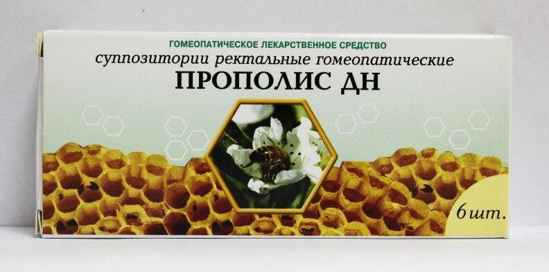 прополис дн свечи применение и инструкция