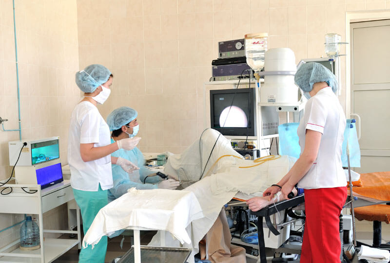 Биопсия предстательной железы делается под контролем УЗИ