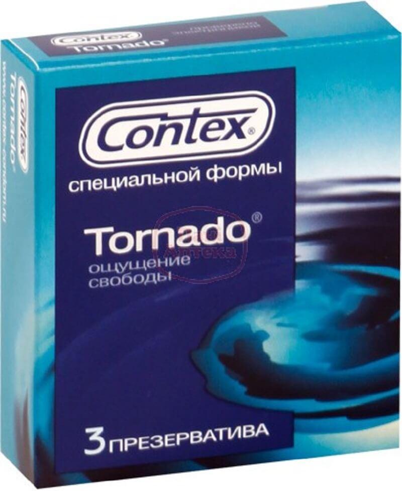 Contex вид презервативов Tornado