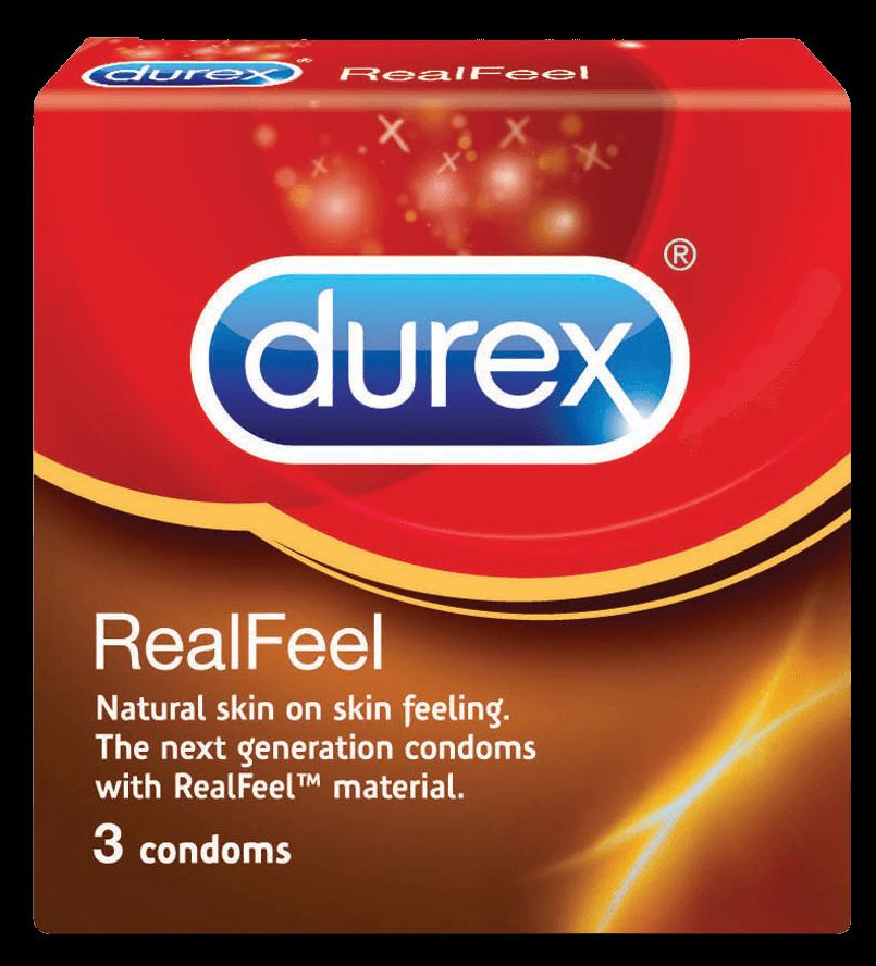 презервативы дюрекс Durex RealFeel