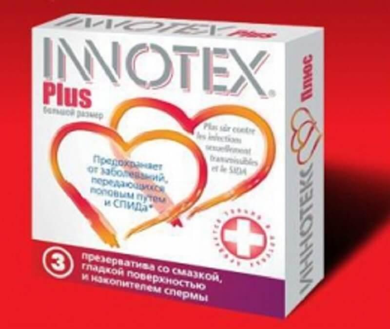 Condom Innotex Plus лучший презерватив больших размеров