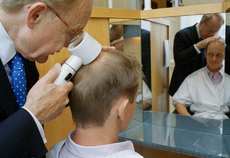 Обследование при андрогенной алопеции у мужчин
