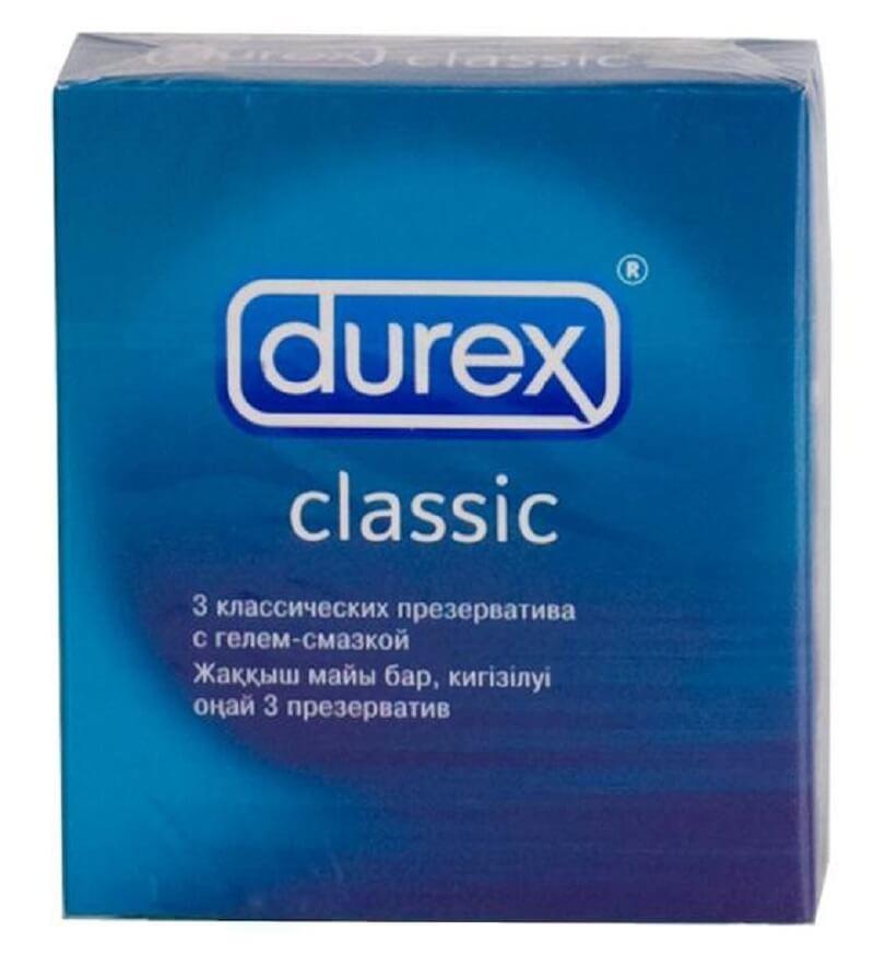 виды презервативов Durex Classic