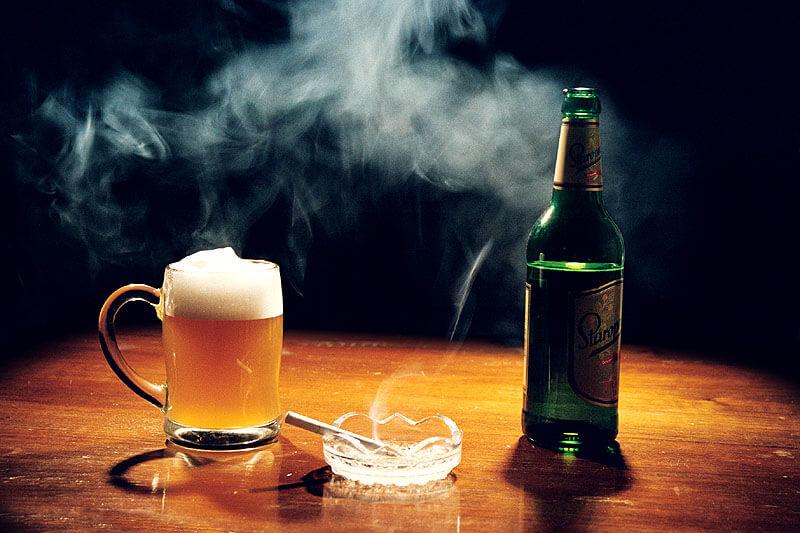 алкоголь и курение вызывают простатит у молодых мужчин