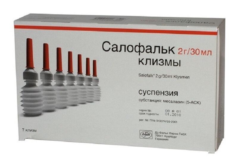 лечение язвенного проктита препаратами