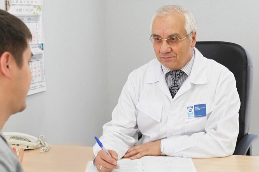 Участки фиброза предстательной железы — Простатит