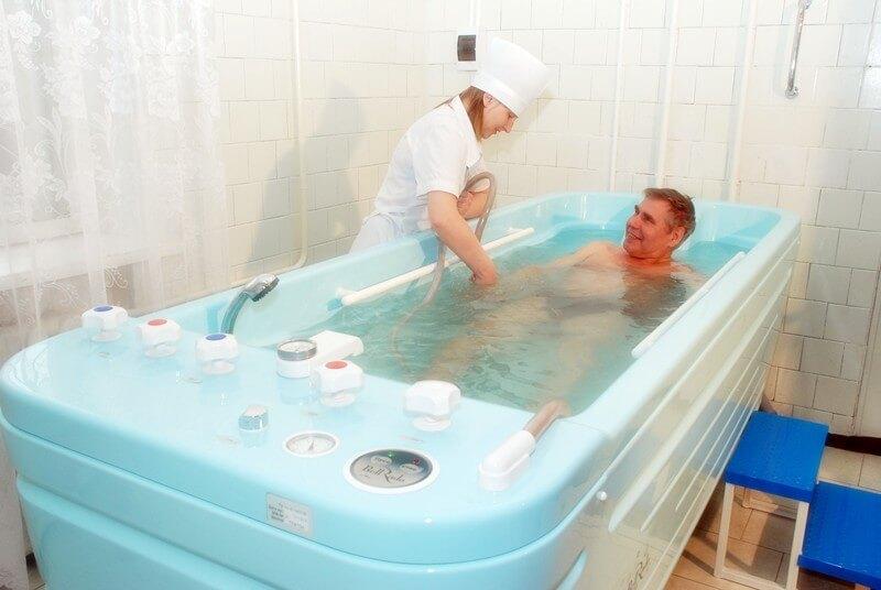 применение лечебных ванн при варикоцеле